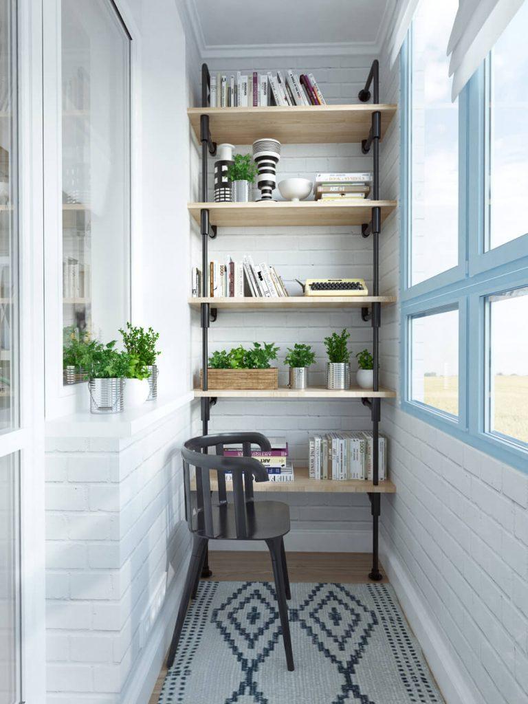 Интересные идеи для маленького балкона милый дом.
