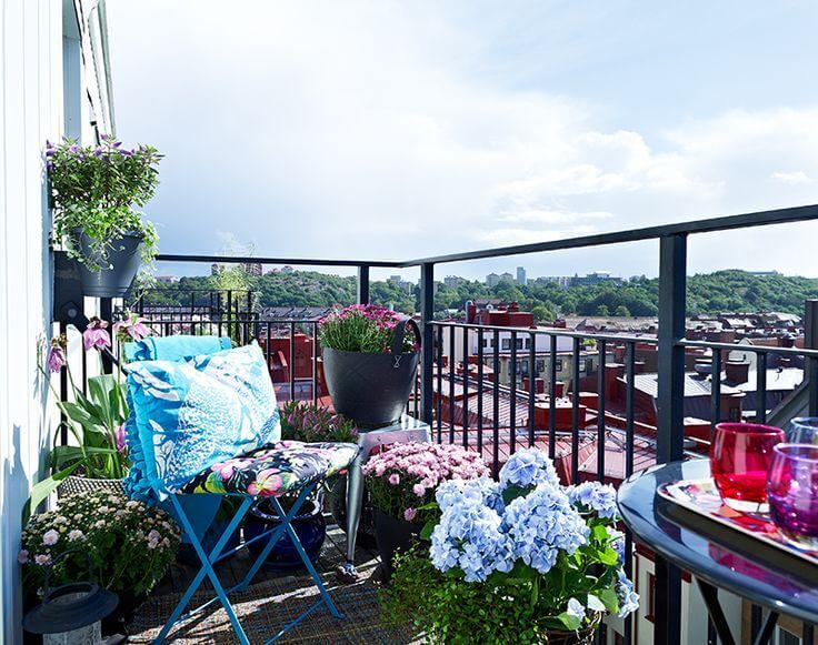 интересные идеи для маленького балкона
