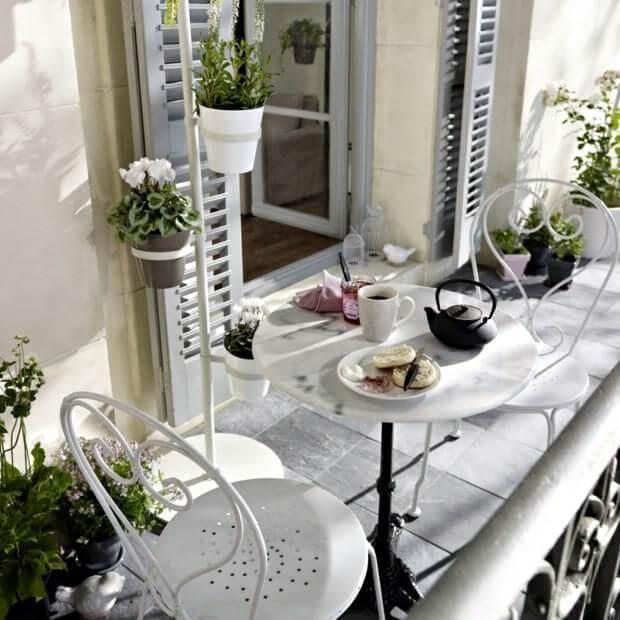 10 идей для маленького балкона