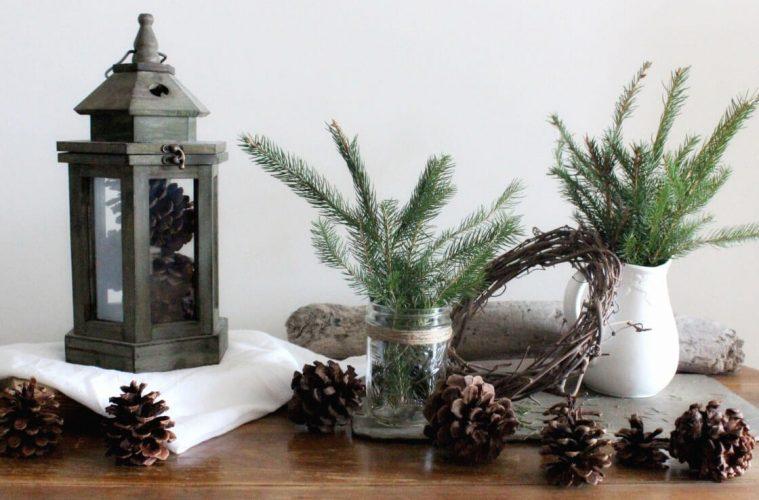 Как украсить дом к зиме