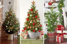 маленькие рождественские елки