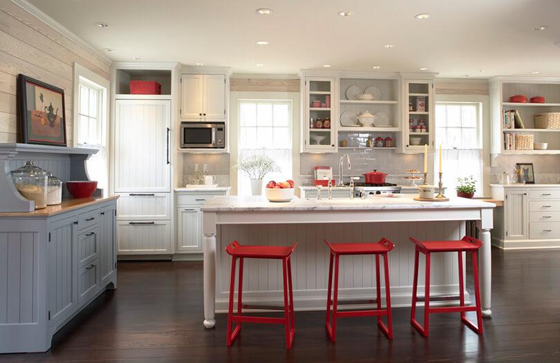 как обновить интерьер без ремонта на кухне