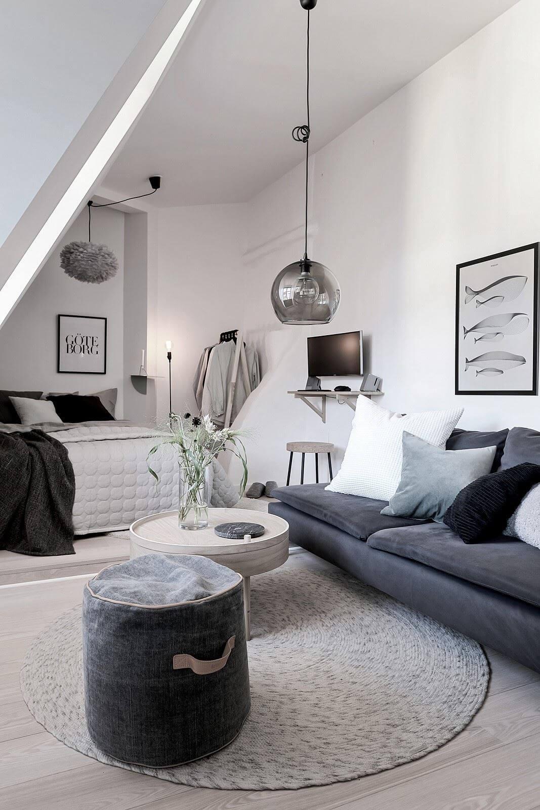 Спальня в студии: советы от Джулии Грин