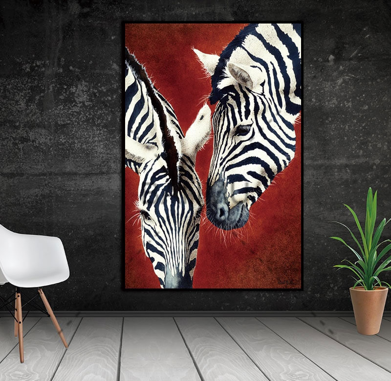 принт зебры